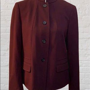 Talbots Burgundy Jacket